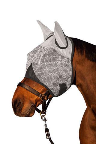 Fliegenmaske mit Ohrenschutz inkl. UV-Schutz
