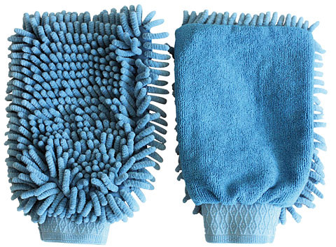 Putzhandschuh Microfaser