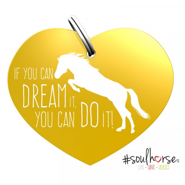 Sondermarke If you can dream it gold