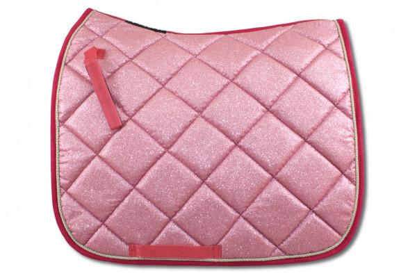 Glitzer Schabracke, pink DR