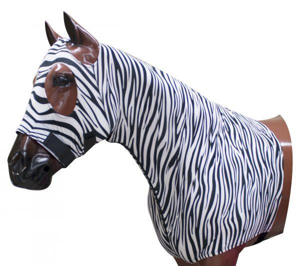 Sleezy stretch mit Reißverschluss, Zebra