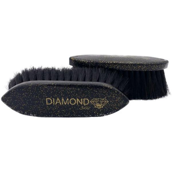 Haas Fellbürste Diamond Noir, klein 5cm