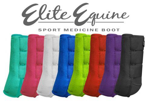 Westernboots, Elite Equine Sport Medicine Boots, Pferdeboots für optimalen Beinschutz