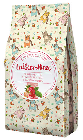 Delizia Candy Erdbeere / Minze