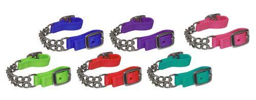 Kinnkette in verschiedenen Farben
